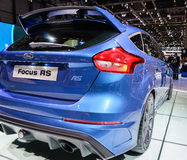 Ford Focus RS, Motor Show Geneve 2015. Stock Images