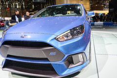 Ford Focus RS, Motor Show Geneve 2015. Stock Photos