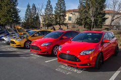 Ford Focus ST Royalty Free Stock Photo