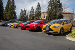 Ford Focus ST Stock Photo