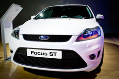 Ford Focus ST at Moscow International exhibition Stock Photo
