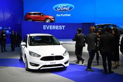 Ford Focus in The 38th Bangkok International Thailand Motor Show Royalty Free Stock Images