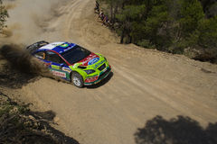 Ford Focus WRC 2007 Royalty Free Stock Photography