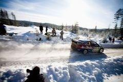 Ford Focus WRC Stock Images