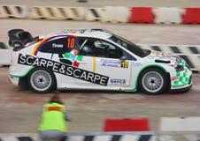 Ford Focus WRC images libres de droits