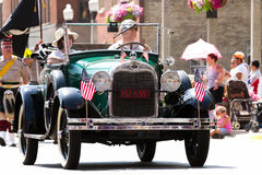 Ford at Fourth of July parade Stock Photo