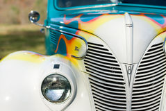 1939 Ford Front End, Passenger Side Royalty Free Stock Images