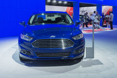 Ford Fusion 2015 on display royalty free stock photos
