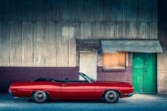 1969 Ford Galaxie μετατρέψιμο Στοκ εικόνες με δικαίωμα ελεύθερης χρήσης