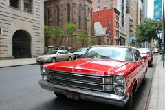 Ford Galaxie classic car Royalty Free Stock Image
