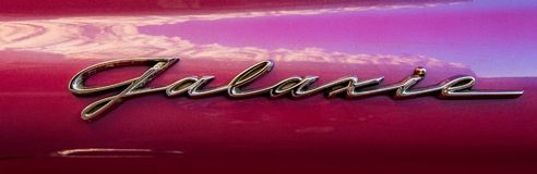 Ford Galaxie Logo Royaltyfri Foto