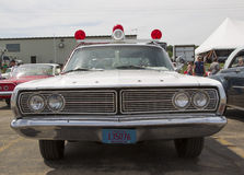 1968 Ford Galaxie Milwaukee Police Car Front-Mening Royalty-vrije Stock Foto's