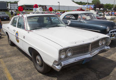 1968 Ford Galaxie Milwaukee Police Car Stock Photo
