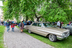 Ford Galaxie 500 parked in the park Stock Photography