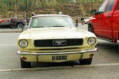 Ford in giallo pallido Fotografia Stock Libera da Diritti
