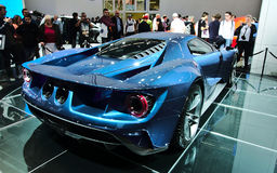 Ford GT aux voitures d'IAA Photographie stock