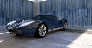 Ford GT car Royalty Free Stock Image