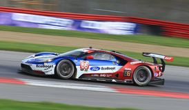 Ford GT, Chip Ganassi Racing. 66 Ford GT, Chip Ganassi Racing, Joey Hand, Dirk Muller Royalty Free Stock Photography