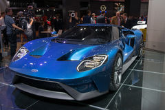 Ford GT concept Royalty Free Stock Photos