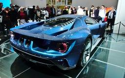 Ford GT an den IAA-Autos Stockfotografie