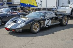 Ford gt 40 in display Stock Photo