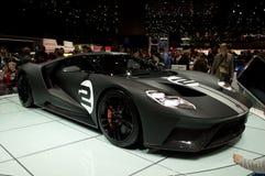 Ford GT Ginevra 2017 Immagini Stock Libere da Diritti