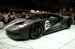 Ford GT Ginevra 2017 Immagine Stock