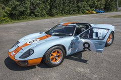 Ford gt gulf Royalty Free Stock Photos