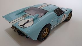 Ford Gt Mk II model car Royalty Free Stock Photo