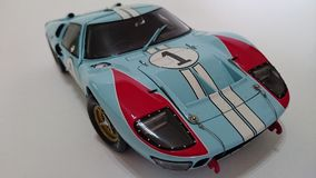 Ford Gt Mk II, second of LeMans race Royalty Free Stock Image