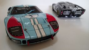 Ford Gt Mk II, winner and second place of LeMans race Stock Photography