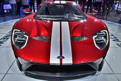2018 Ford GT na feira automóvel de Detroit Imagem de Stock