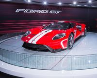 2018 Ford GT, NAIAS Images stock