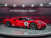 2018 Ford GT, NAIAS fotografia stock