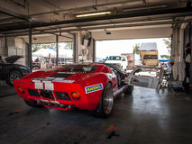 Ford GT40 racing car Stock Image