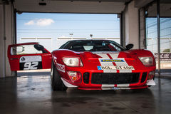 Ford GT40 racing car Stock Photography