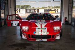 Ford GT40 racing car Royalty Free Stock Photo