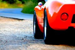Ford GT 40 sports car Stock Photography