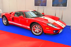Ford GT sports car - SIAB 2011 Stock Photo
