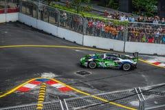 Ford GT sul Gran Premio della città Immagini Stock