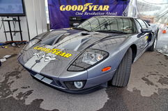 Ford GT super car on display Stock Photography