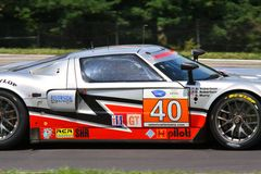 Ford GT super car racing Royalty Free Stock Image