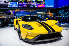 Ford GT 600 Supercar Fotografia Royalty Free