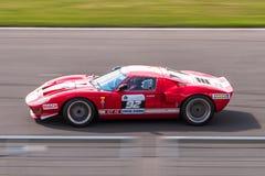 Ford GT40 tävlings- bil Fotografering för Bildbyråer