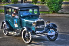 Ford A - HDR verarbeitete Lizenzfreies Stockbild