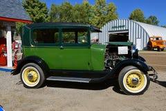 Ford 1928 Herstelde Modela Stock Fotografie