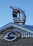 1930 Ford Hood Ornament Stock Images