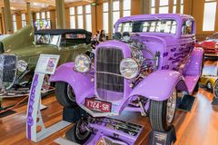 1932 Ford hot rod car. At Victorian Hot Rod & Cool Rides Show in Melbourne, Australia Stock Images