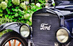 Ford 1924 Stock Photo
