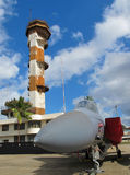 Ford-Insel-Luft-Kontrollturm - F15A Adler Lizenzfreie Stockfotografie